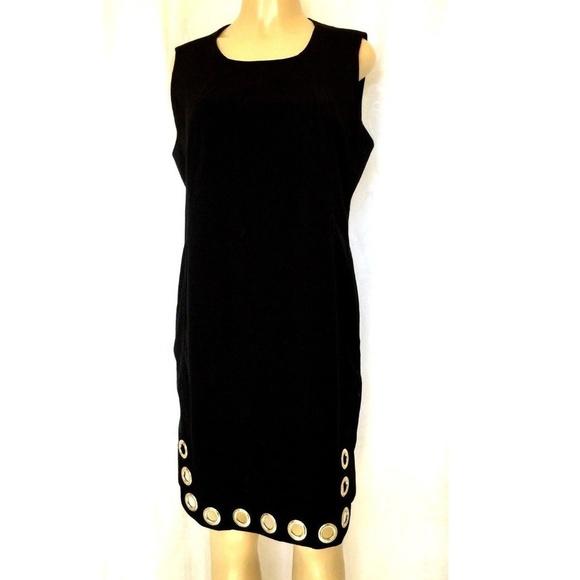 Karl Lagerfeld Dresses Little Black Dress Sleeveless 14 L Poshmark